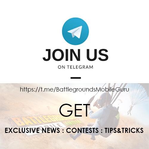 BGMI Telegram Page