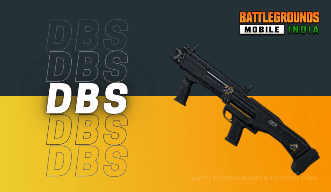 BGMI DBS Weapon